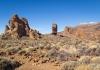 Vulkanlandskap vid Teide