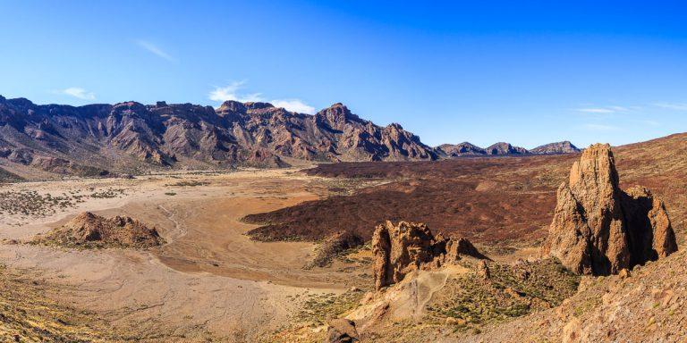 Vulkanlandskap på Teide